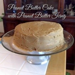 How to make the best peanut butter cake ever!