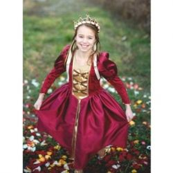 Burgundy Medieval Queen Medium (Size 5/6) by Creative Education of Canada