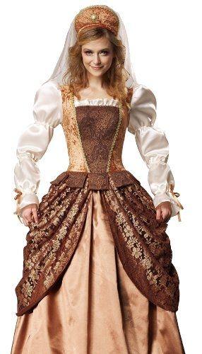 Costumelicious HGM International Anne Boleyn Medieval Adult Renaissance Fair Halloween Costume