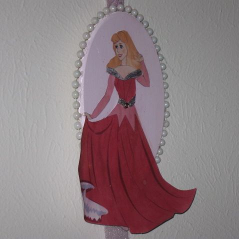 Princess plaque project for girls