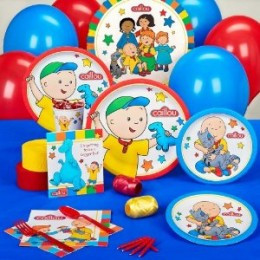 Caillou Birthday Party Supplies