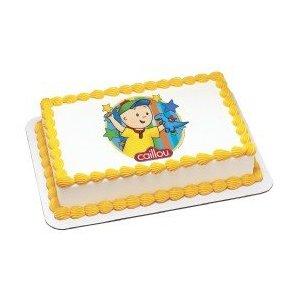 Caillou edible cake topper