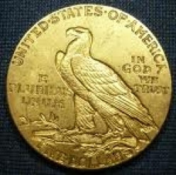 Types of US Half Eagle Gold Coins