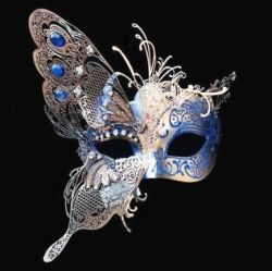 image credit - blue morpho butterfly mask courtesy of Amazon and available below