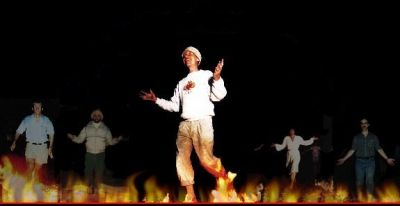 Firewalking: One of the Siddhis