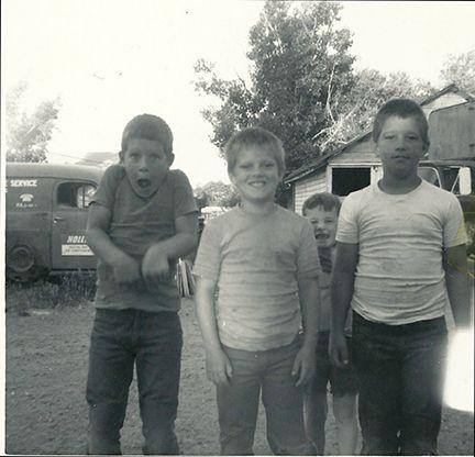 The neighborhood boys were never serious.