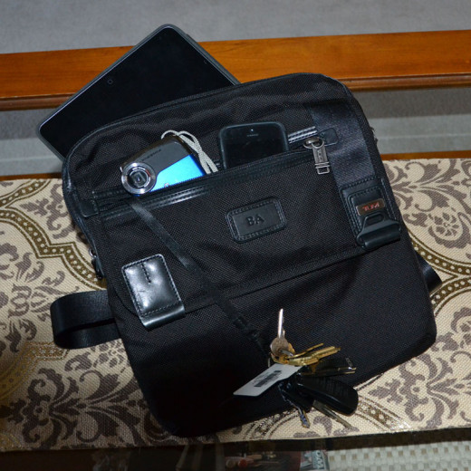 Your iPad, cell phone, camera and much more items fit nice and snug and are always at hand!