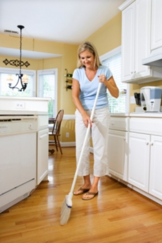 What is the best way to clean laminate wood floors for Best way to wash kitchen floor