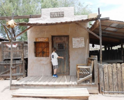 Goldfield Ghost Town Jail