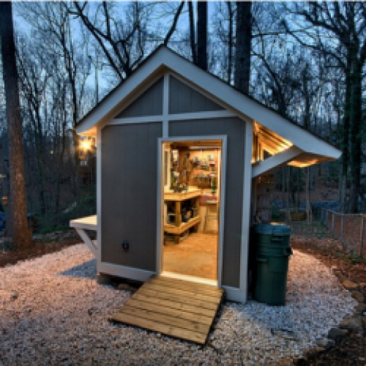 photos plans and ideas of the coolest workshops and sheds dengarden