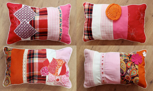 Pillows are an ideal starter project.