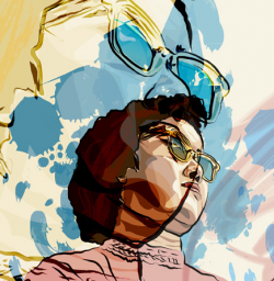 Illustrator CS5 painting.