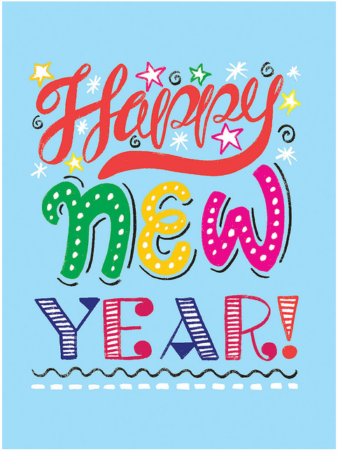 This pretty card design was created using markers and Illustrator CS5.