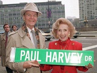 Paul Harvey Drive!