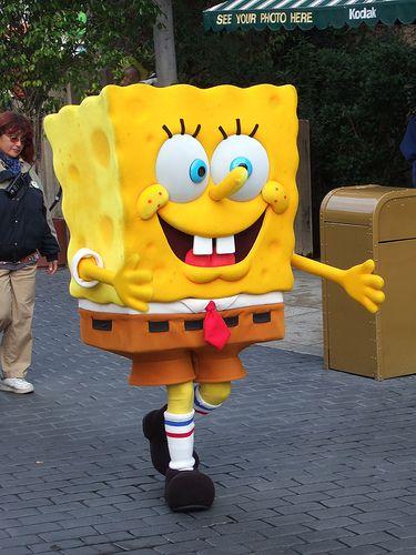 Spongebob at Universal Studios