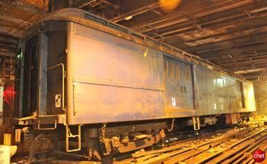 Roosevelt's Private Rail Car