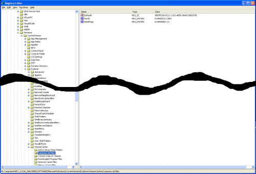 Navigate the Registry Editor