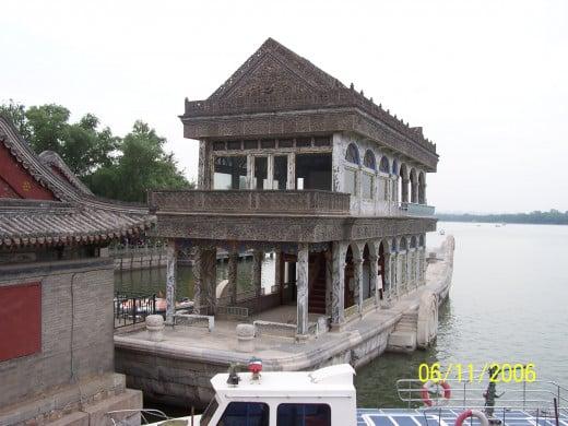Stone boat Summer Palace