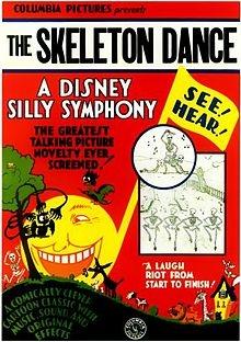 The Original Skeleton Dance Poster