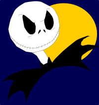 The Nightmare Before Christmas Jack Skellington drawn by Me