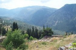 Delphi - Where Priestesses Foretold At The Oracle