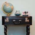 How to Revamp a Vintage Suitcase | DIY Upcycling Ideas for Old Luggage & Trunks