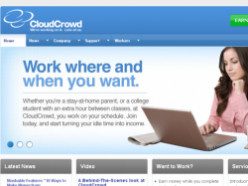 Work From Home as a Writer or Editor for CloudCrowd: A Review