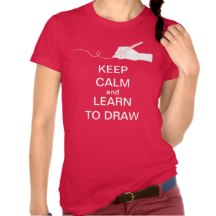 KEEP CALM and LEARN TO DRAW