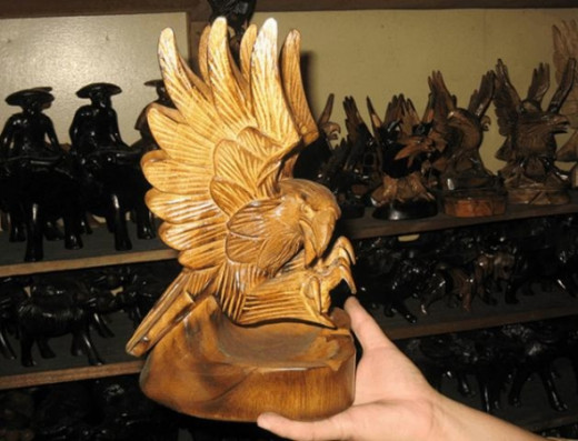eagle ashtray