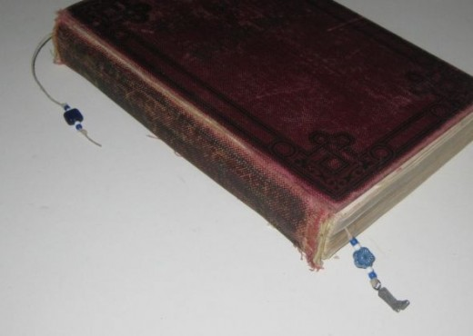 Completed book thong doing its job.