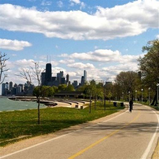 My Slice of Blading Paradise - Chicago Lakefront