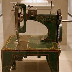Singer sewing machine the patent model; Photo Credit: cliff1066