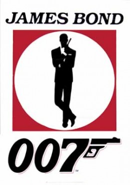 James Bond, licensed to kill