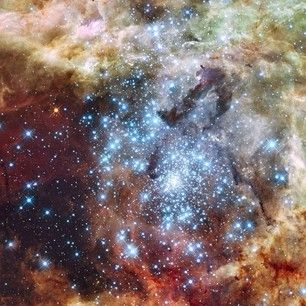 NASA Goddard star clusters image