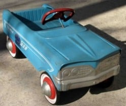 Buying, Restoring and Refurbishing Murray Pedal Cars with Authentic Murray Parts