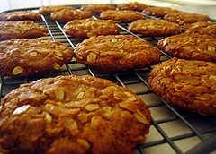 Fresh Anzac Biscuits