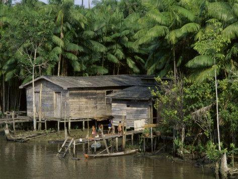 Amazon Rivers Furo de Breves Para, Brazil