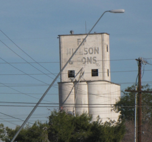 FP Hillson and Sons elevator ghost sign, Mesa, Arizona. Photo Credit:  Peggy Hazelwood