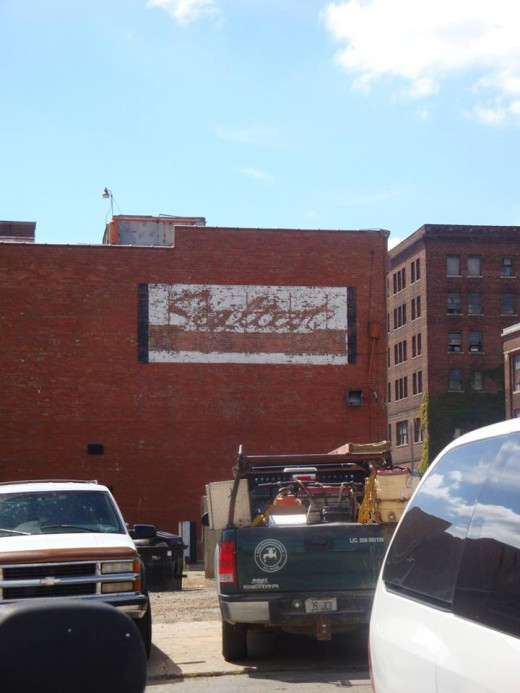 Sealtest dairy ghost sign.