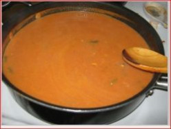 Minnesota Cooking: Tomato Soup - Using Frozen Tomatoes