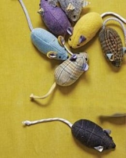Make a Mouse Cat Toy with These Free Patterns