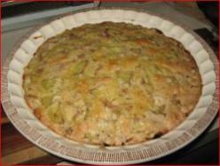 Minnesota Cooking: Self Crusting Pie: Rhubarb
