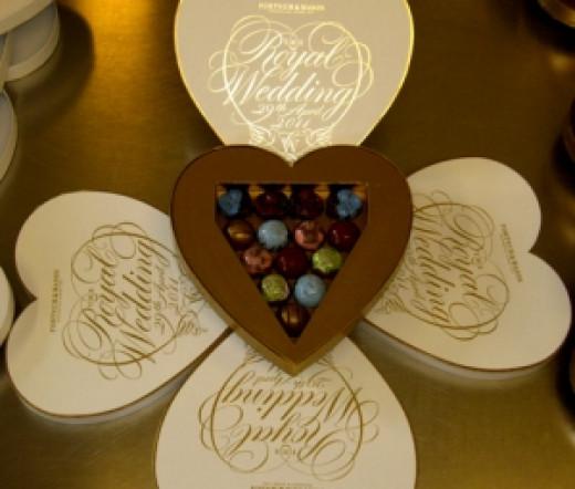 Royal Wedding Chocolate Collection