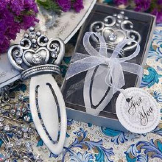 Royal wedding bookmark