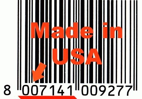 made in USA barcode starts with ZERO