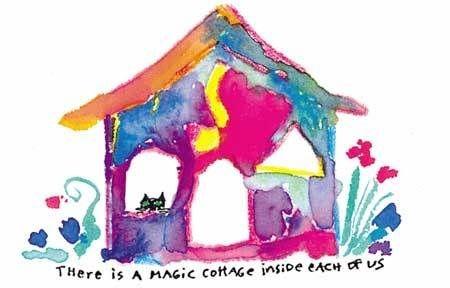 SARK, magic cottage