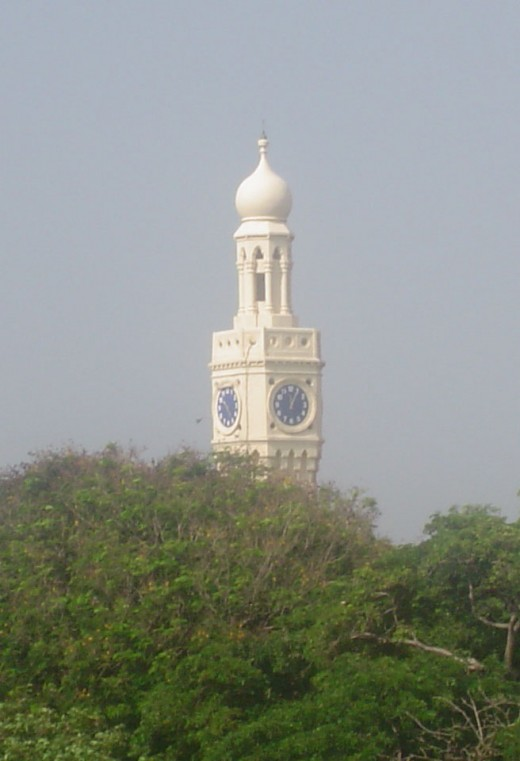 Fig.2 A view of the Tower over the trees.