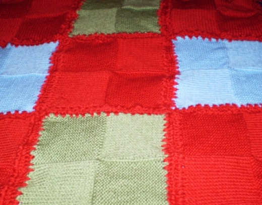 Unfinished Throw Rug.