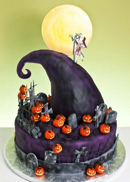 From Top 10 Best Nightmare Before Christmas Cakes