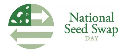 The winning logo design by Matthew Smith of Richwood, OH. Join in to increase the available seedbank, to make new gardening friends, and participate in one of the fun aspects of growing plants.